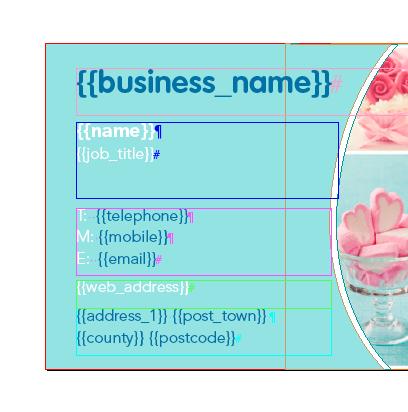Building a template in InDesign® | w3pedia