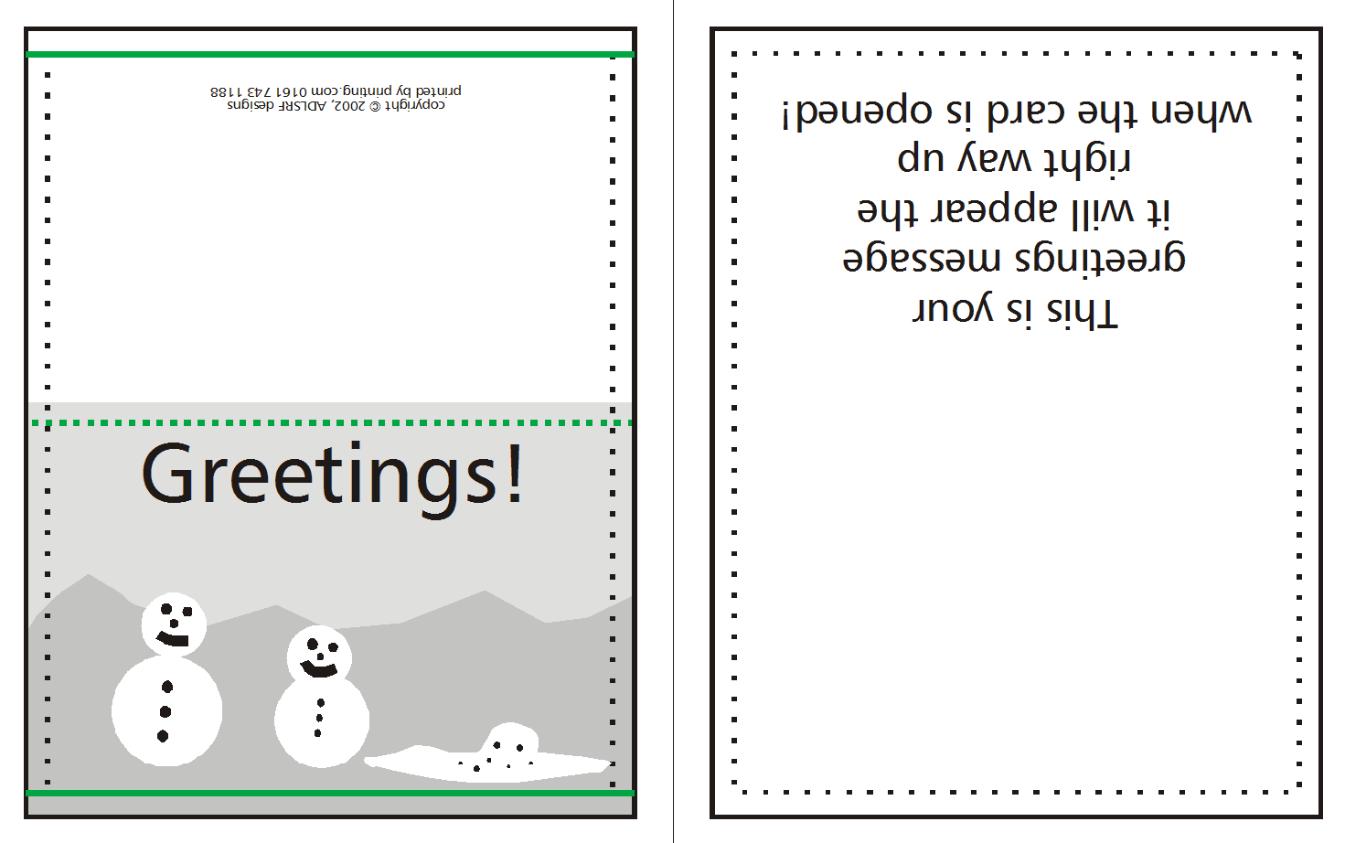 How to supply Greeting/Christmas Cards | w3pedia