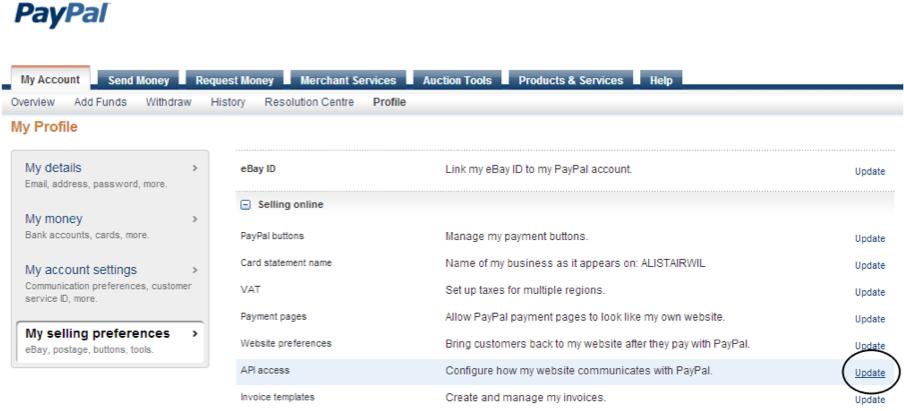 paypal application w3pedia